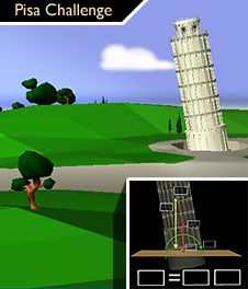 IntEL project: Leaning Tower of Pisa Statics Example
